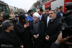 Firefighters' sacrifice act of heroism: Pres. Rouhani