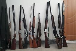 کشف ۴۳ قبضه سلاح غیرمجاز در آبادان