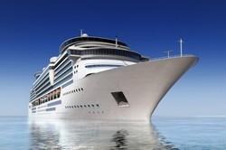 کشتی در دریا