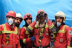 عملیات امداد و نجات ساختمان پلاسکو - 8