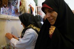 Cultural Heritage, Tourism and Handicrafts Organization Director Zahra Ahmadipour visits Arak