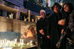 İranlı sanatçılardan itfaiyecilere takdir töreni