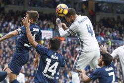 سرخیو راموس - دیدار تیم های رئال مادرید و مالاگا