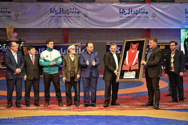 Iran wrestling teams win Takhti Cup