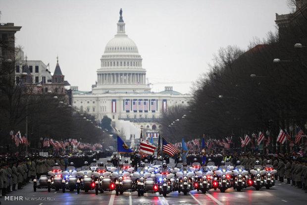 ورود ترامپ به کاخ سفید در میان اعتراضات