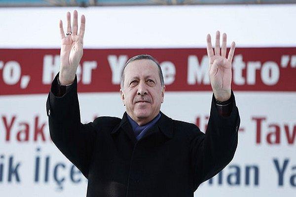 أردوغان يؤكد على استمرار عمليات الفرات نافياً بقاء بلاده في سوريا