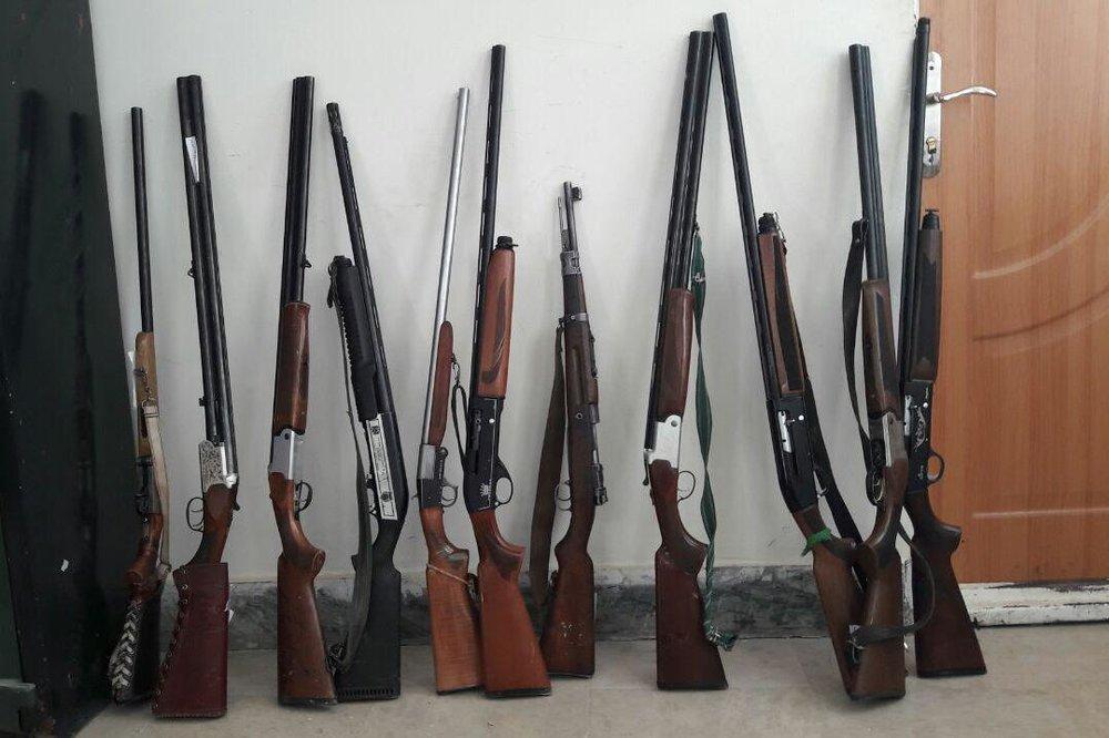 دستگیری ۶ شکارچی متخلف در استان اردبیل