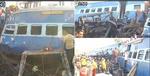 اترپردیش میں ٹرین کی 8 بوگیاں پٹری سے اترنے سے 15 افراد زخمی