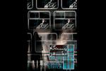 پوستر فیلم «ایستگاه اتمسفر» با طرحی از طاها ذاکر