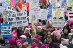 ABD'li kadınlardan Trump karşıtı gösteri