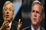توصیه جب بوش و دنیس راس به ترامپ: سریعاً ایران را منزوی کنید