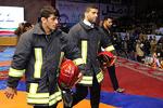 شجاعت و رشادت آتشنشانان ستودنی است