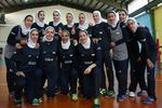 تمرین تیم ملی والیبال بانوان در غیاب یک بازیکن برگزار شد