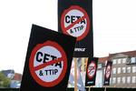 تظاهرات سراسری در اروپا در اعتراض به پیمان تجاری اروپا-کانادا