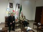 دیدار رئیس فدراسیون ناشنوایان با رئیس کمیته ملی المپیک