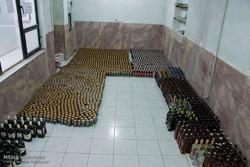 بیش از ۱۲هزار قوطی انواع مشروبات الکلی معدوم شد