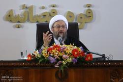 صادق آملی لاریجانی رئیس قوه قضائیه