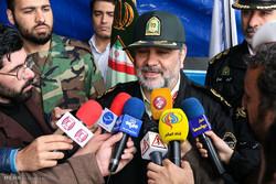 حسین اشتری فرمانده نیروی انتظامی