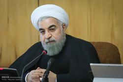 روحاني : يجب ممارسة الضغوط على امريكا لانتهاكها القوانين الدولية