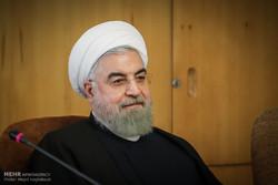 روحاني يؤكد على ضرورة توفير الأجواء المناسبة للرياضة النسوية