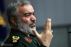 علی فدوی فرمانده نیروی دریایی سپاه