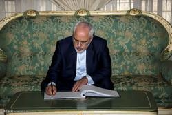Zarif congratulates Haniyeh on election as head of Hamas