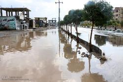 آبگرفتگی خیابانها و معابر عمومی در هشت بندی