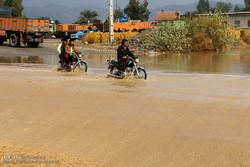 آبگرفتگی مسیر مراکز درمانی جهرم/ کلینیک تخصصی شهر تعطیل شد