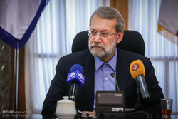 لاريجاني: هواجس مشتركة بين ايران وروسيا البيضاء تجاه الإرهاب
