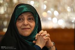 معصومه ابتکار رئیس سازمان حفاظت از محیط زیست