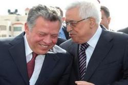 محمود عباس و عبدالله دوم