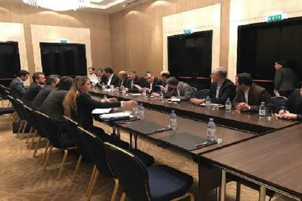 Iran holds talks with Russian, Turkish delegations in Astana