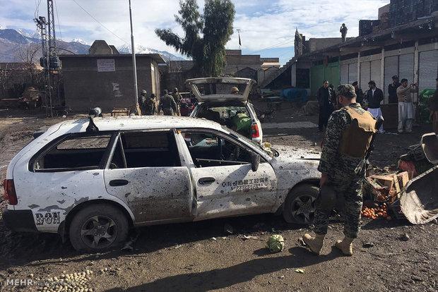 عشرة قتلى على الاقل واكثر من 60 جريحا في انفجار في لاهور في باكستان