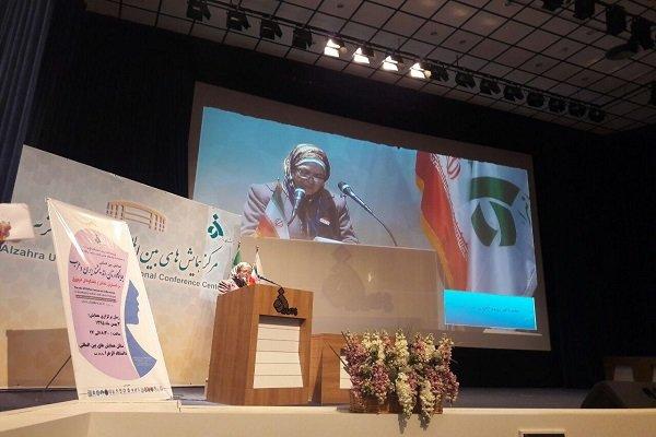 """ندوة ندوة """"مكانة المرأة العالمة في ايران والعالم العربي"""