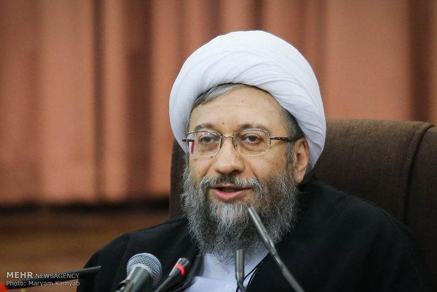 آية الله لاريجاني: الأمن في إيران مضرب مثل في المنطقة