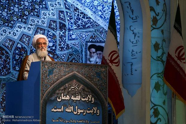خطيب جمعة طهران : على ترامب عدم تكرار الاخطاء السابقة