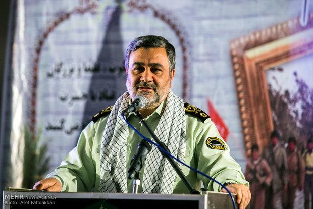 آمادگی ناجا برای حضور جهادی در مواجهه با تهدیدها