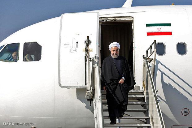 رییس جمهور اسلامی ایران وارد مسکو شد