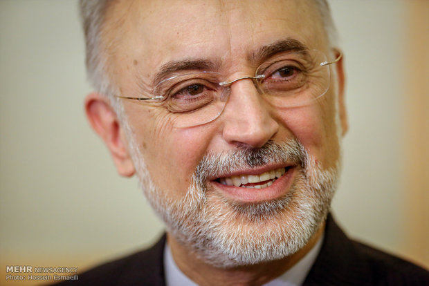 """صالحي يكشف عن موعد تدشين المشروع الجديد لمنشأة """"فردو"""" النووية"""