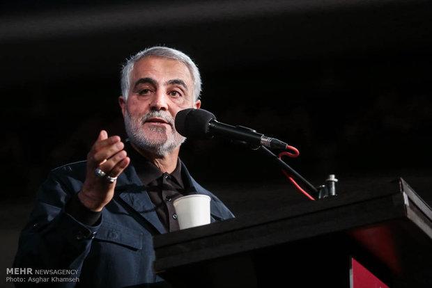 قاسم سلیمانی فرمانده سپاه قدس