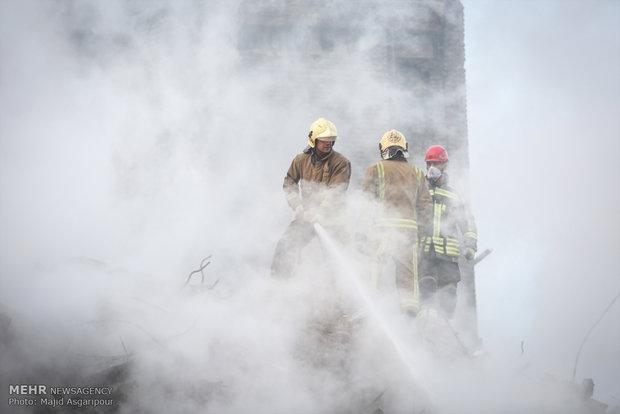 تضحية رجال الأطفاء وتفانيهم تحت ركام بلاسكو/فيلم