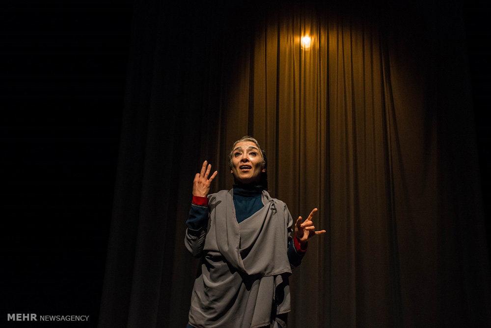 هانیه توسلی در نمایش نامه های عاشقانه از خاورمیانه