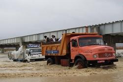 ۷ مسیر در جنوب سیستان و بلوچستان همچنان مسدود است