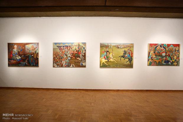 دوسالانه نقاشان و طراحی قزوین در نگارخانه محصص برگزار می شود