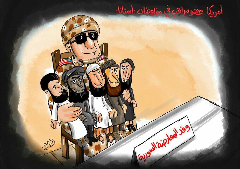 وفد المعارضة السورية في آستانا