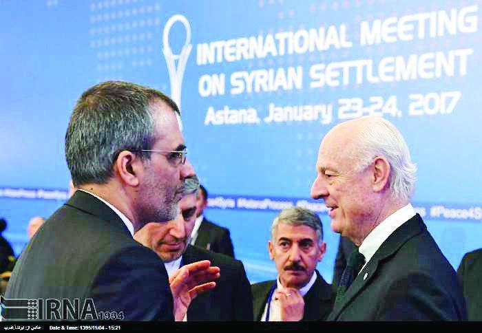 Iran seeks irreversible end to Syria war in Astana