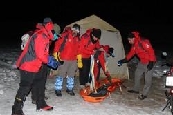 مصدومیت ۳ کوهنورد در توچال/عملیات نجات ادامه دارد