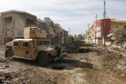 تقدم القوات العراقية في شرق الموصل/ صور