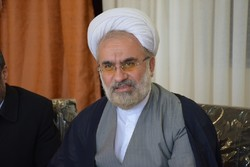 کراپشده - حجت الاسلام علی شکری مدیر کل تبلیغات اسلامی استان سمنان