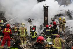 عملیات امداد و نجات ساختمان پلاسکو -۱4